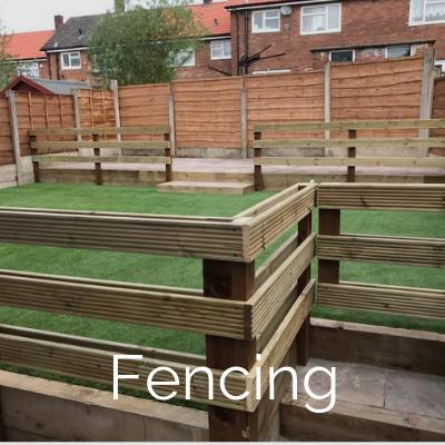 Garden Maintenance Services including Fencing